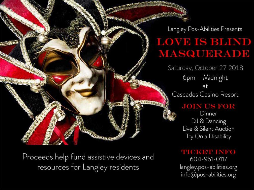 Love is Blind Masquerade Fundraiser