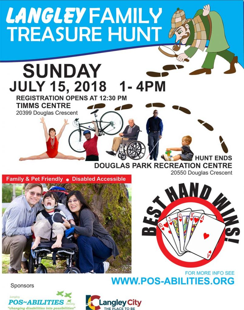 Langley Family Treasure Hunt - 2018