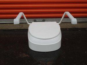 6-inch raised toilet seat Image