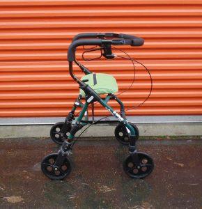 4 wheel Evolution Walker no basket Image