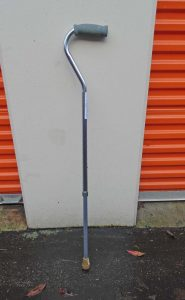 Adjustable walking cane Image